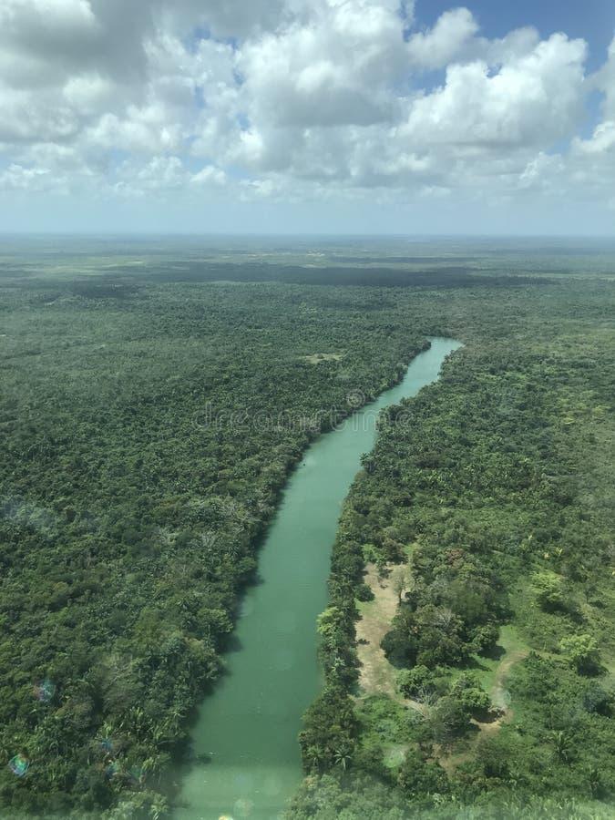 Belize rzeka zdjęcie stock