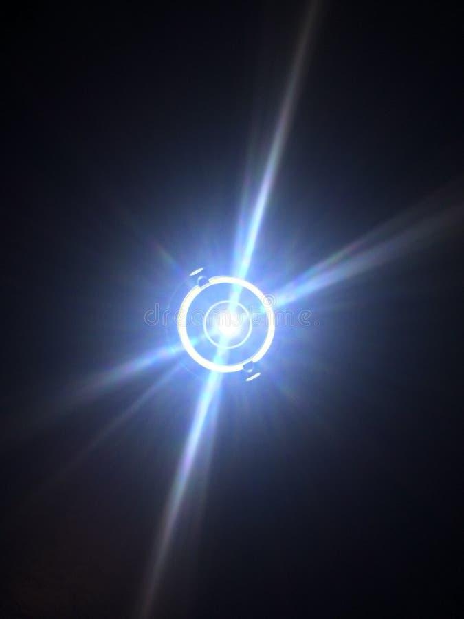 Belkowaty światło jeden obraz stock