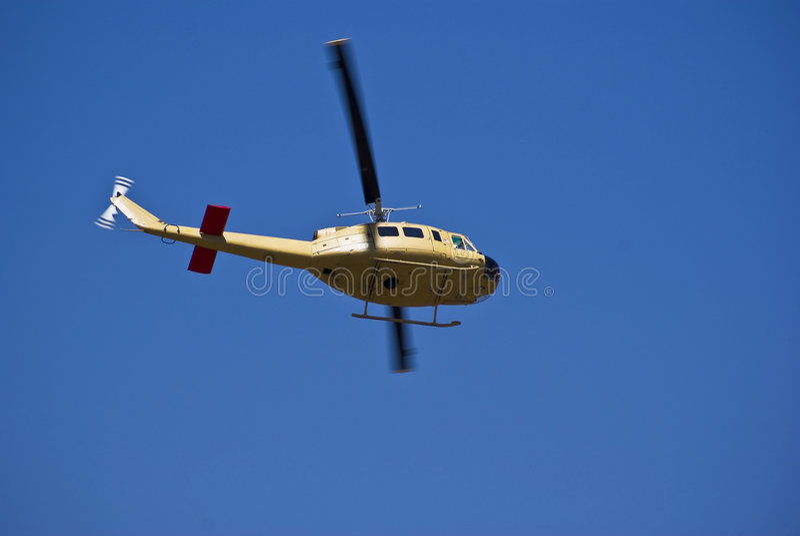 Bell 205 - Iroquois de Bell UH-1D-BF fotos de archivo libres de regalías