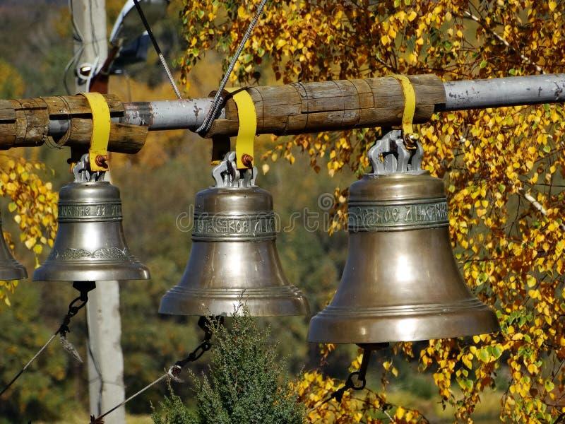 Bell auf dem Glockenturm lizenzfreies stockbild