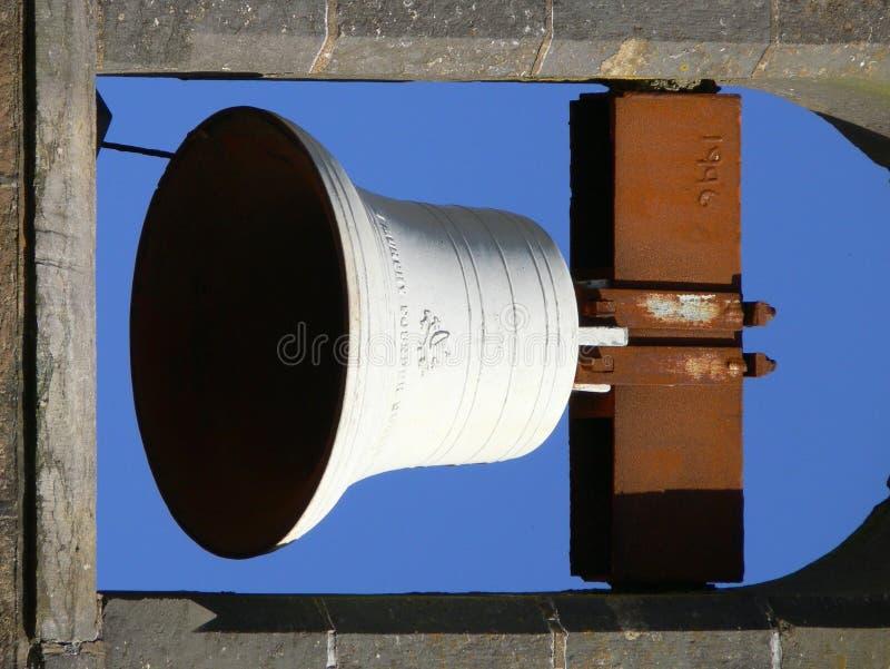 Bell branca fotografia de stock