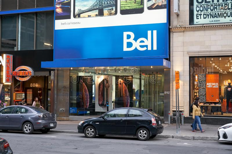 Bell Canada office royalty free stock image