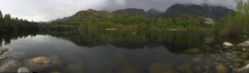 Bell Canyon Lake royalty free stock photography
