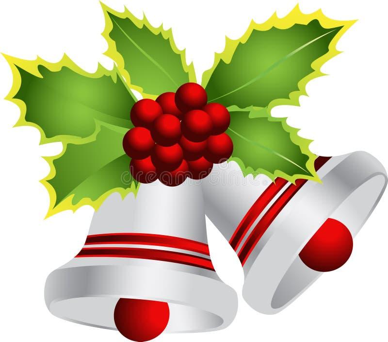bell christmas иллюстрация вектора