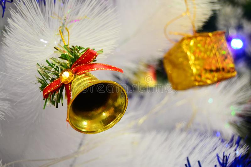 Bell Christmas for your banner and Brochure. This Image for poster and brochure royalty free stock images
