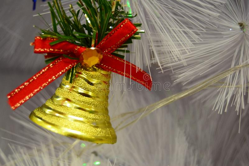 Bell Christmas for your banner and Brochure. This Image for poster and brochure royalty free stock image