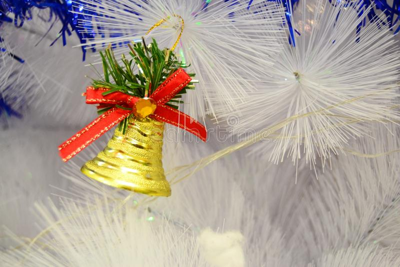 Bell Christmas for your banner and Brochure. This Image for poster and brochure royalty free stock photography