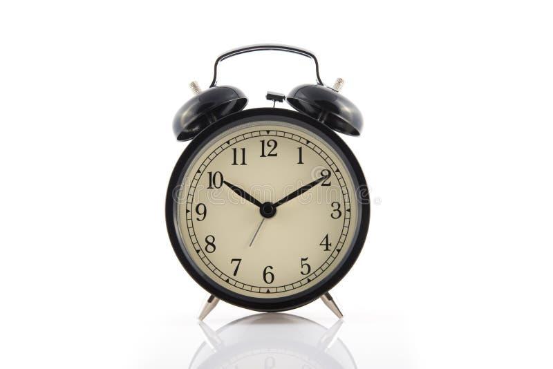 Bell clock on white. Image of bell clock on white stock image