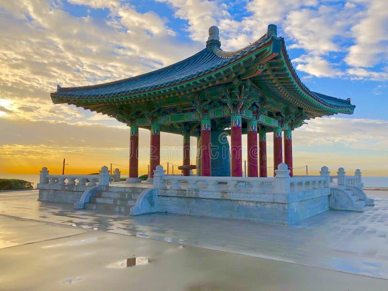 A Bell coreana da amizade fotografia de stock royalty free