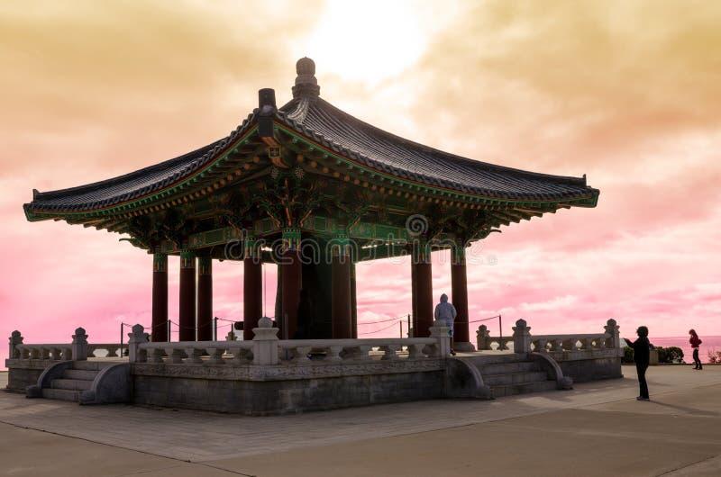 Bell coreana de la amistad foto de archivo