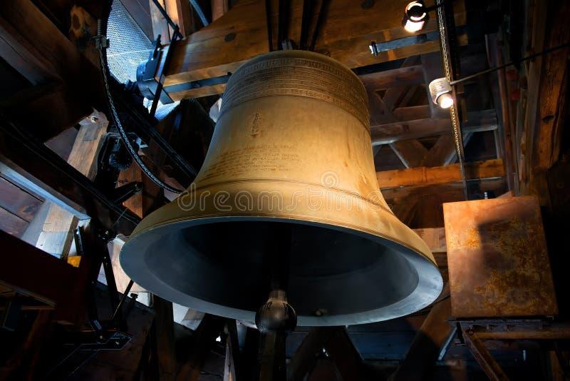 Bell de Notre Dame imagem de stock royalty free