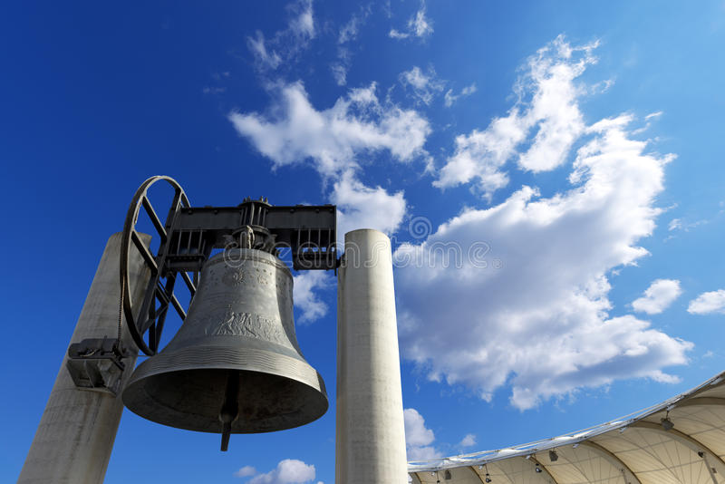 Bell di Rovereto - Trento Italia immagine stock libera da diritti