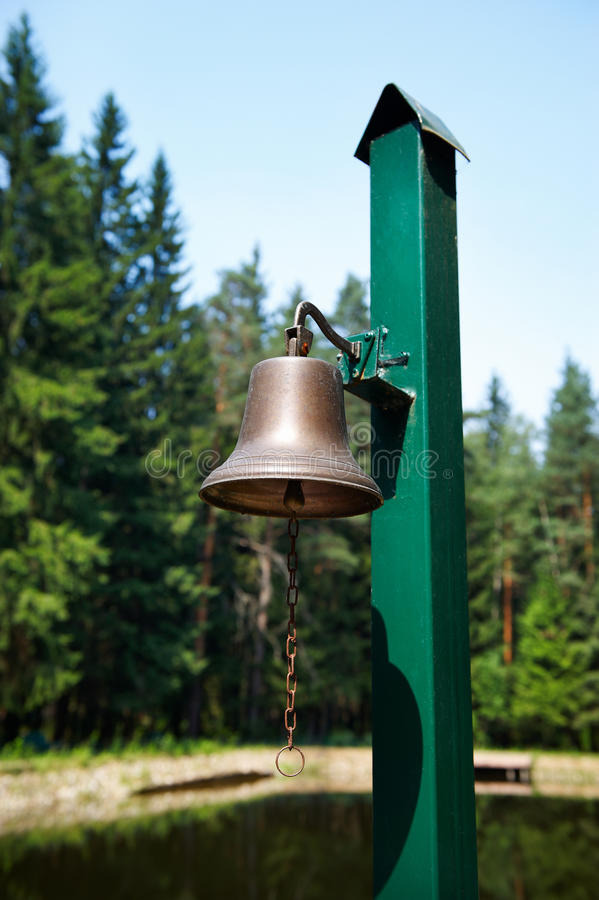 Download The Bell On The Docks Stock Photography - Image: 18999432