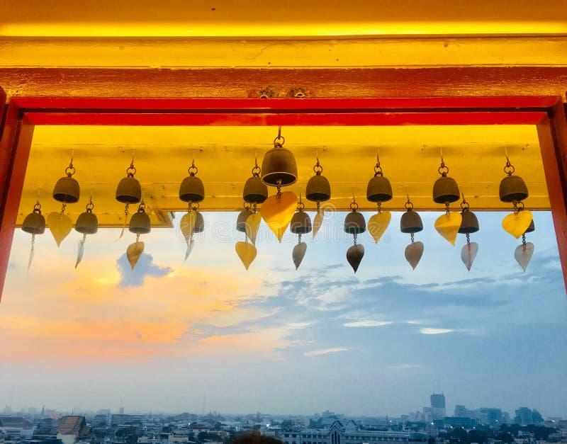 Bell dourada fotos de stock royalty free