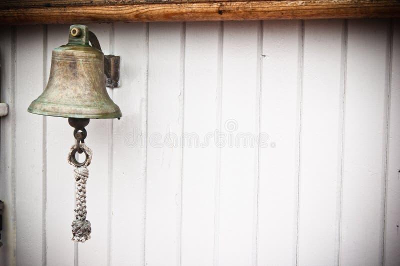 Bell du bateau image stock