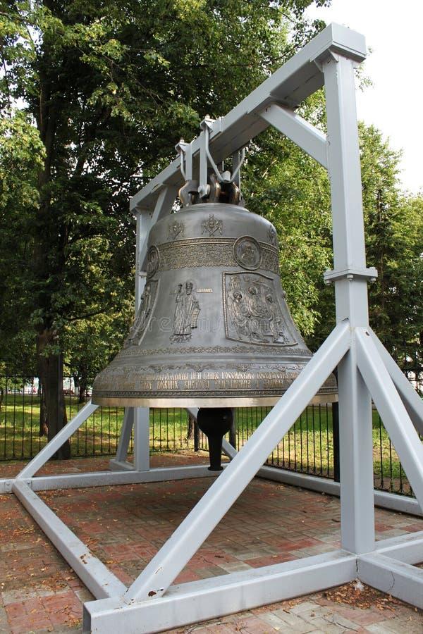 Bell em Yaroslavl fotografia de stock