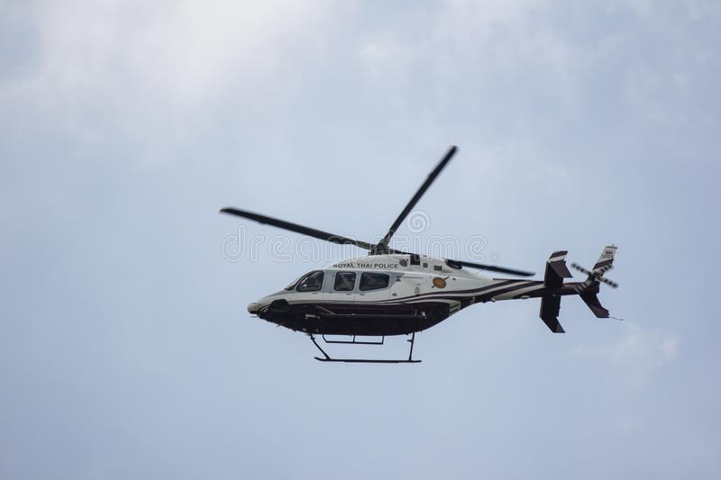 3204 Bell 429 Global Ranger of Royal Thai Police Wing royalty free stock photography