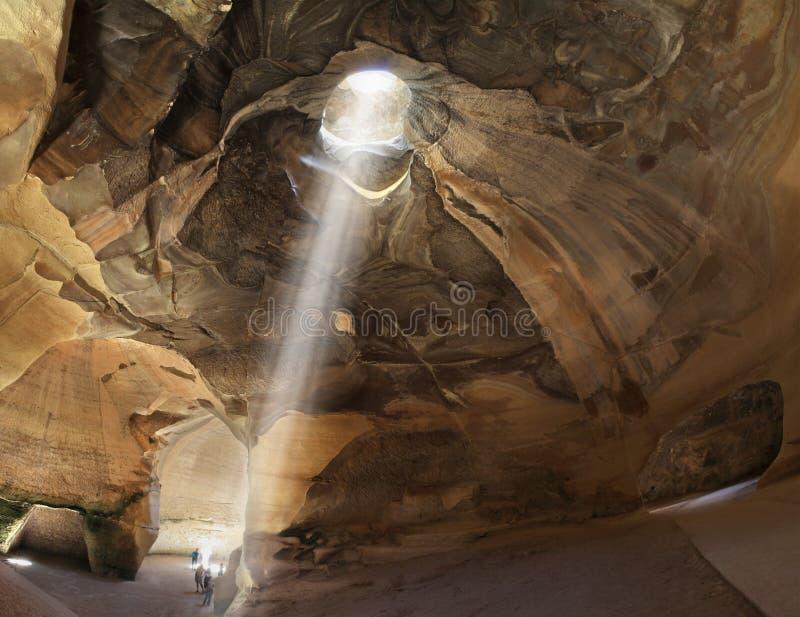 Bell-Höhlen von Beit Guvrin in Israel stockfotografie