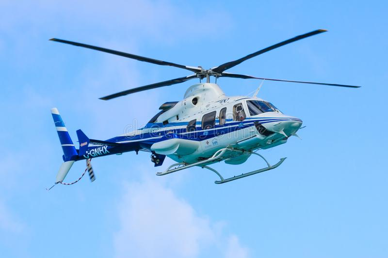 Bell 430 helikopter obraz royalty free