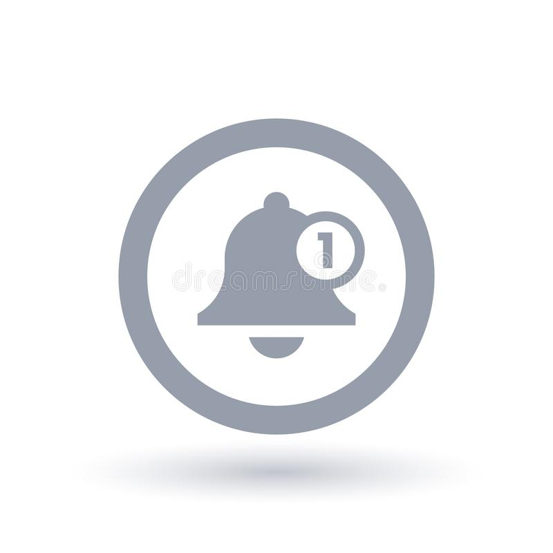 download bell icon message alert symbol stock illustration illustration of notify symbol