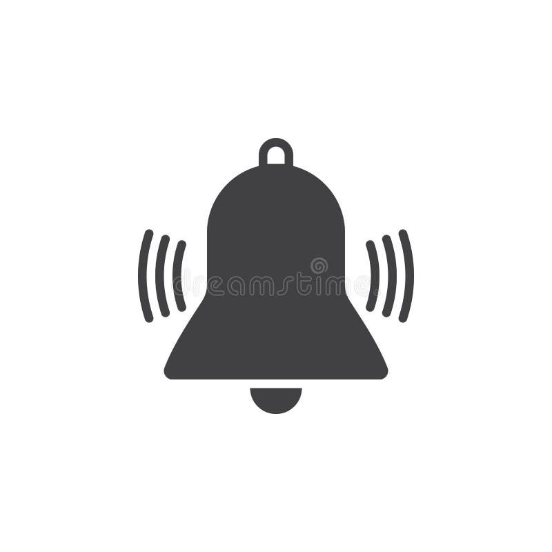 Download Bell-Ikone Schellend, Alarmieren Sie Feste Logoillustration, Pictogr Stock Abbildung - Illustration von abbildung, anzeige: 90234842