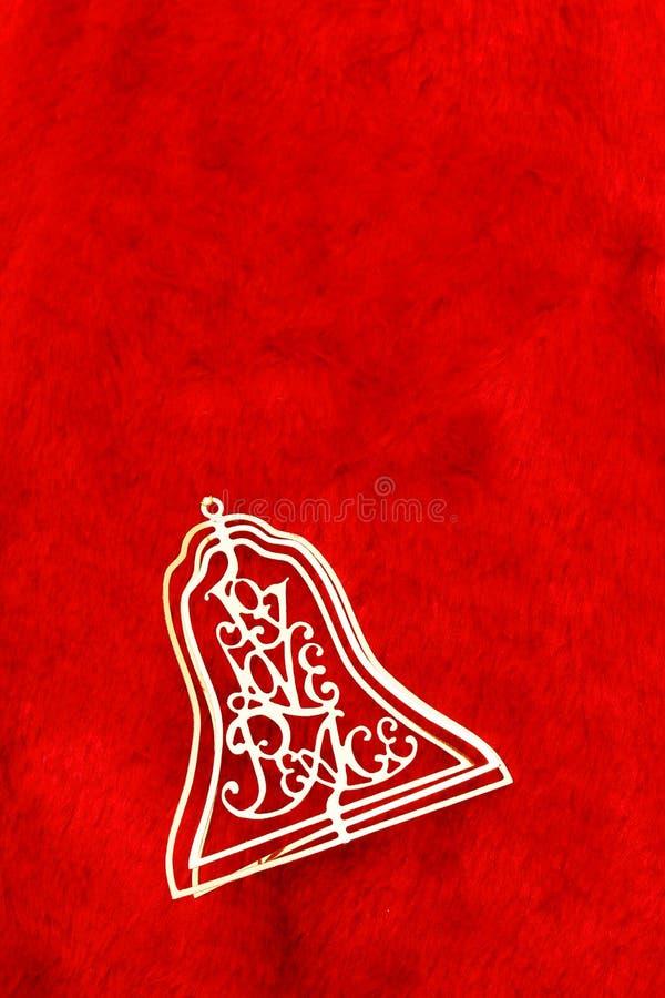 Bell im Rot stockbilder