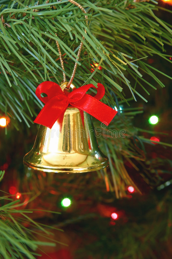 Bell a natale immagine stock