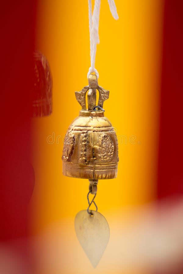 The bell. The bell is an object with a buzzing sound stock photo