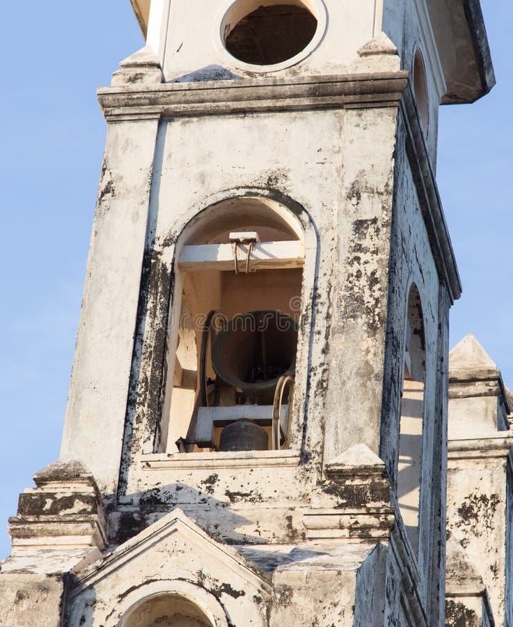 Bell od kościół w szczególe obrazy royalty free