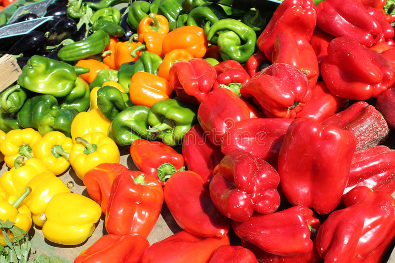 Download Bell Pepper stock photo. Image of diet, sweet, stacking - 20094768