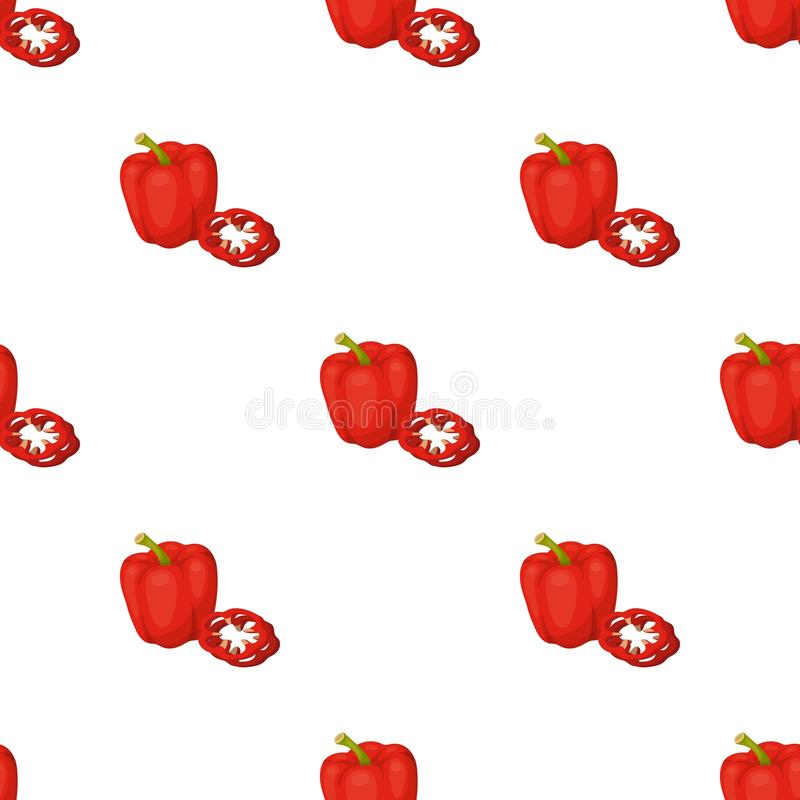 Bell pepper.BBQ single icon in cartoon style vector symbol stock illustration web. Bell pepper.BBQ single icon in cartoon style vector symbol stock illustration royalty free illustration