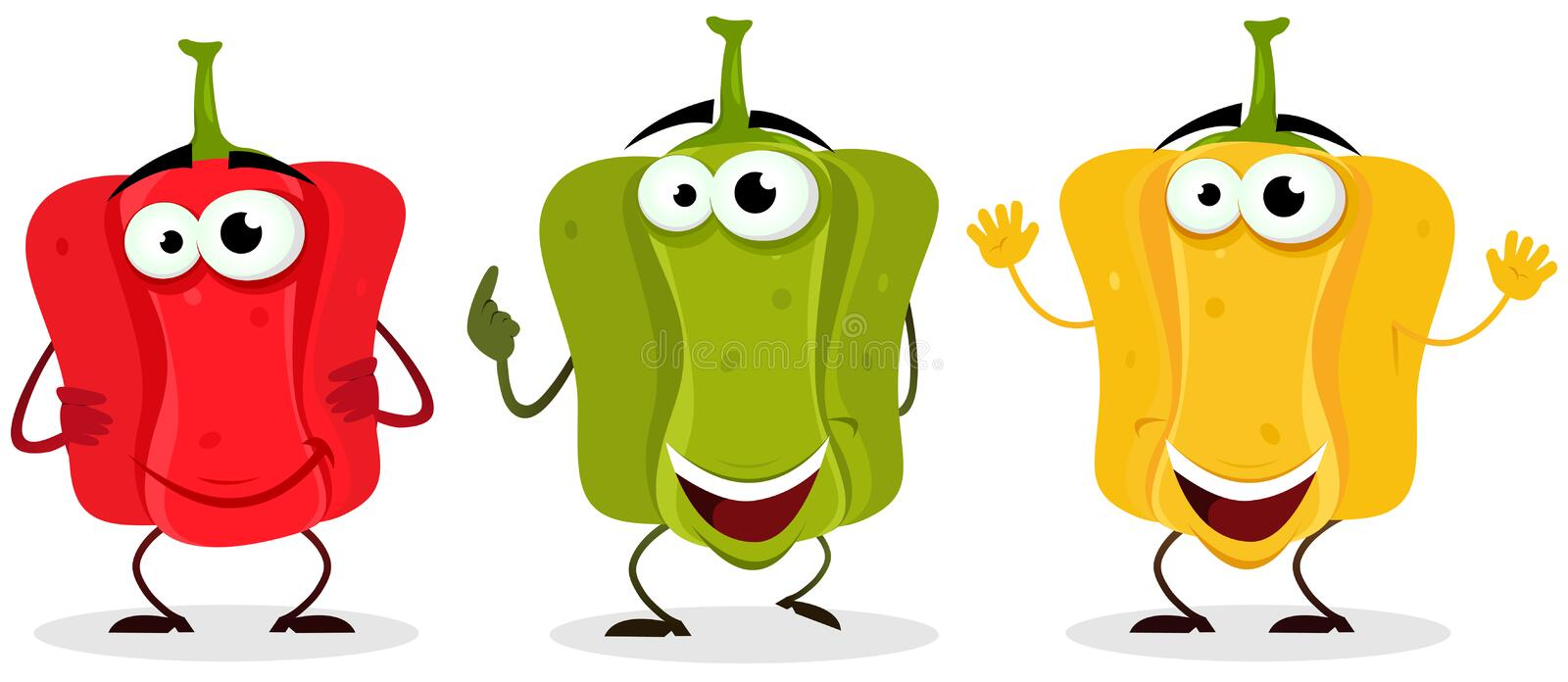 Download Bell Pepper Character Stock Photo - Image: 26707840