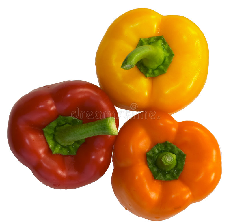Free Bell Peppers 2 Royalty Free Stock Photo - 197965