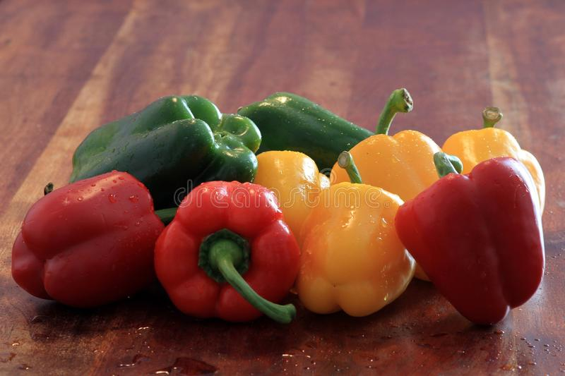 Download Bell peppers stock photo. Image of green, vegetable, orange - 28573222