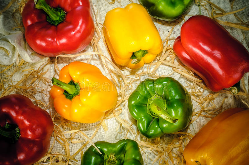 Download Bell Peppers stock photo. Image of colorful, background - 28700758