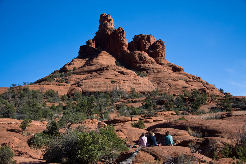 Download Bell Rock stock photo. Image of hiking, sedona, national - 7670828