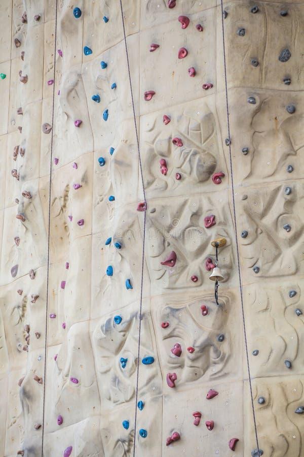 Rock climbing wall background