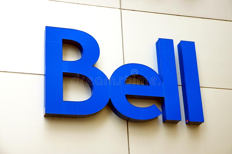 Bell Sign royalty free stock photo