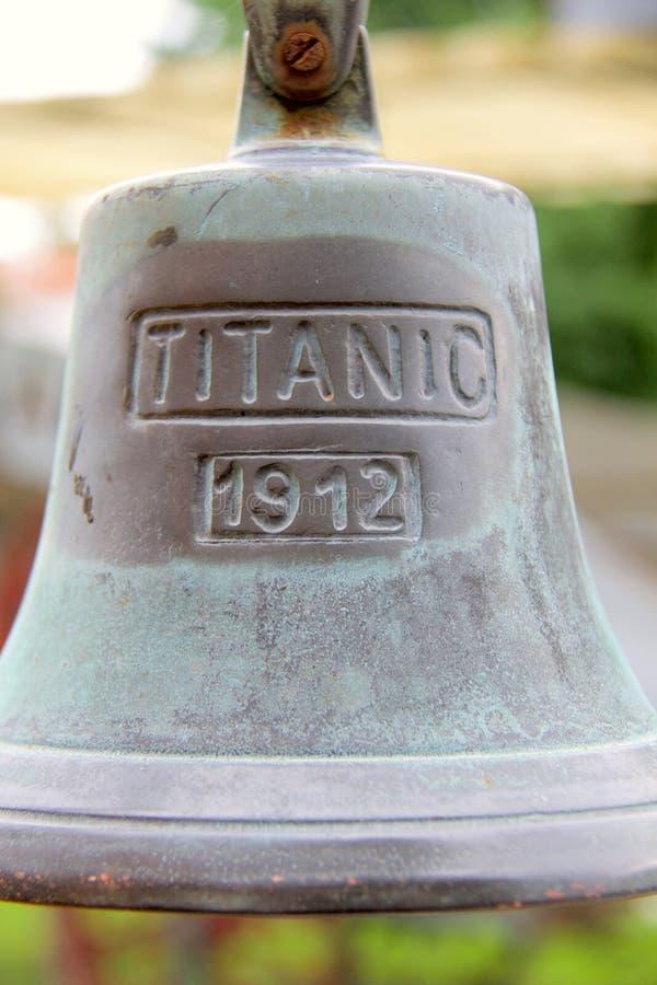 Bell titánica fotografía de archivo