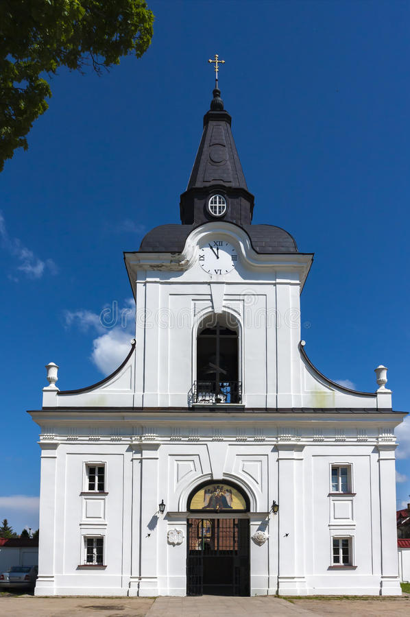 Free Bell Tower , And Gate. Order Of The Annunciation In Poland Stock Photos - 72032843