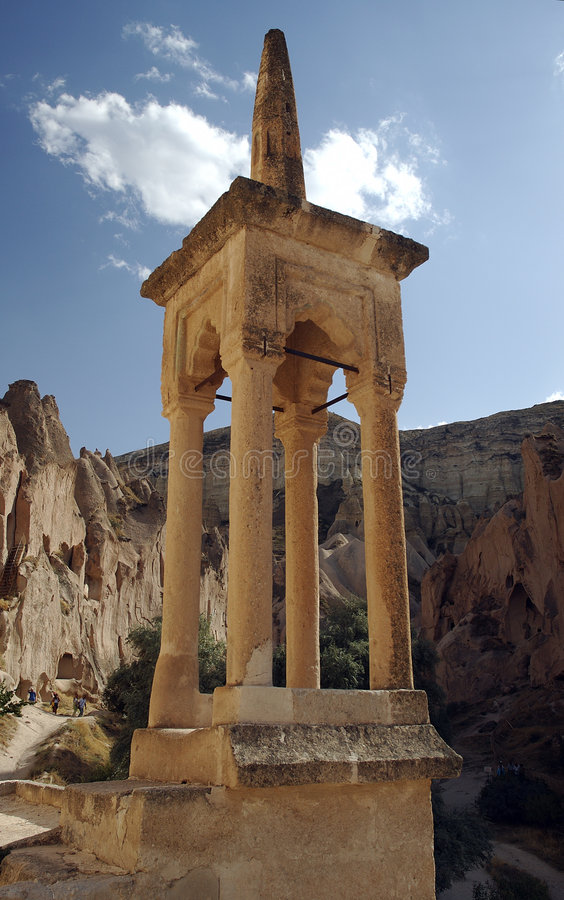 Free Bell Tower At Cappadocia Royalty Free Stock Photography - 38687