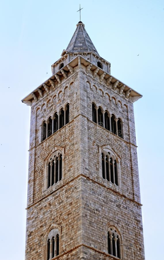 The bell tower of cathedral of Trani (BA)