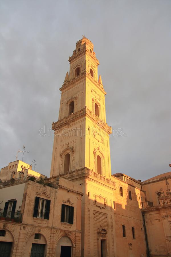 Lecce in Apulia, Italy royalty free stock photography