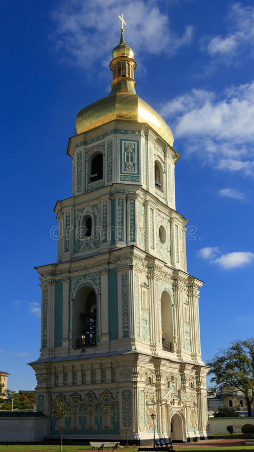 Free Bell Tower Of Saint Sophia Cathedral. Royalty Free Stock Photos - 84682268
