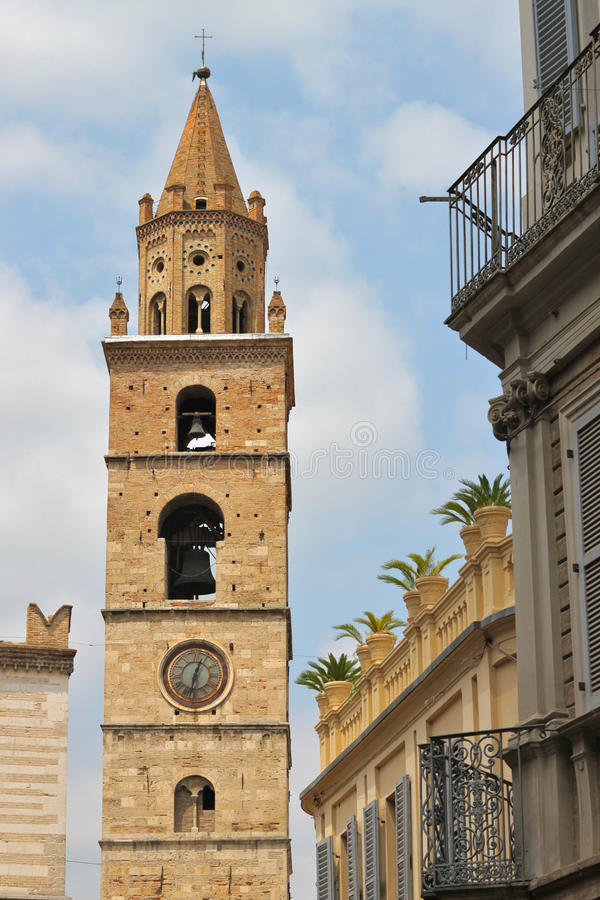 Free Bell Tower Of Teramo Stock Image - 19962691