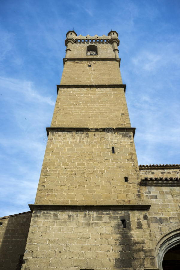 Free Bell Tower Of The San Martin De Tours Church Stock Photography - 88250362