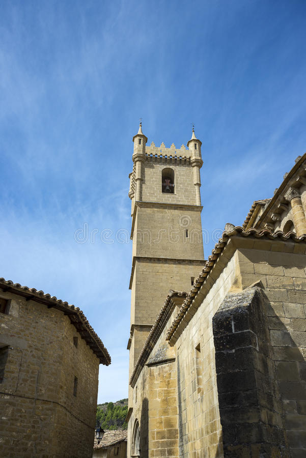 Free Bell Tower Of The San Martin De Tours Church Stock Photography - 88250482