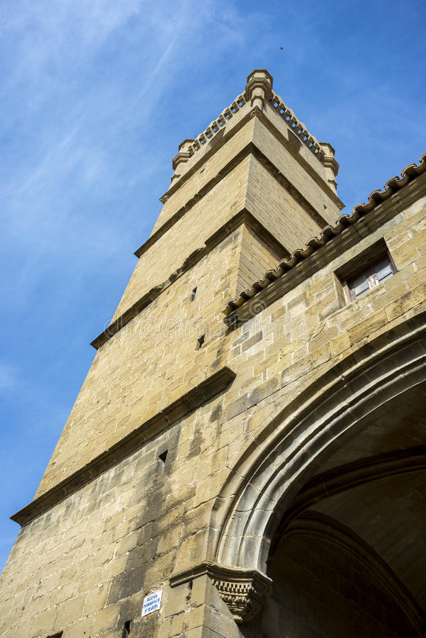 Free Bell Tower Of The San Martin De Tours Church Stock Photography - 88250492