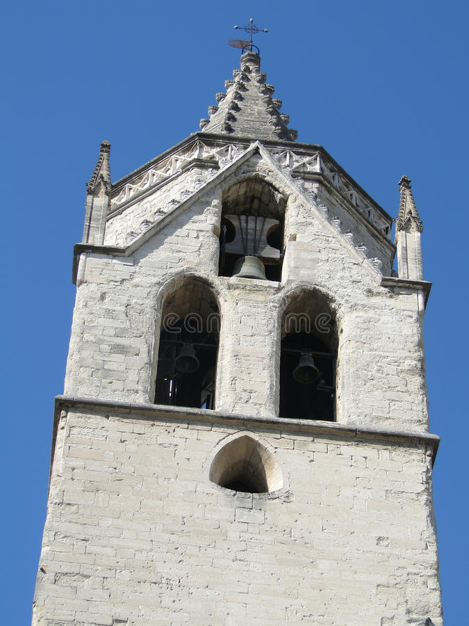 Bell tower of old church