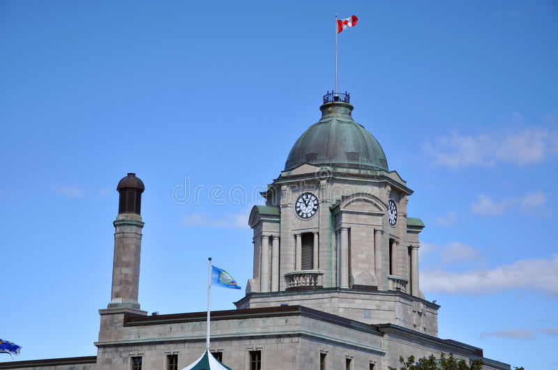 Quebec City Post Office, Canada royalty free stock image